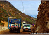 Roads for the toughest tires by Prashant Menon.  Tags: kund, roads.