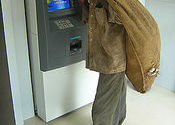 ATM :) by kammaldeep.  Tags: People and Faces, People and Faces, ATMs, ATMs.