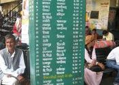 Bus time table 3 at Rampur-Bushar, HP; May 5, 2010 by mars13.  Tags: Rampur, Uttar Pradesh, Himachal Pradesh, Transportation, Buses in India.
