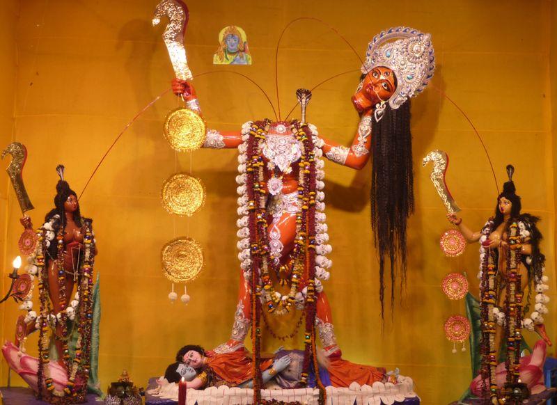 Celebration Of Kali Puja 12