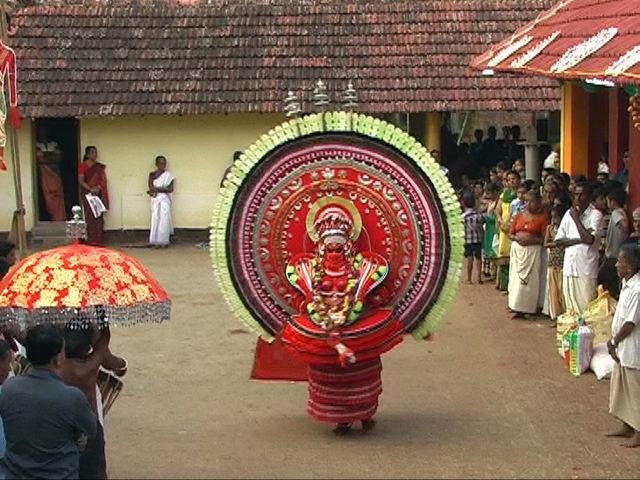 Middle stage of Bhagavathi