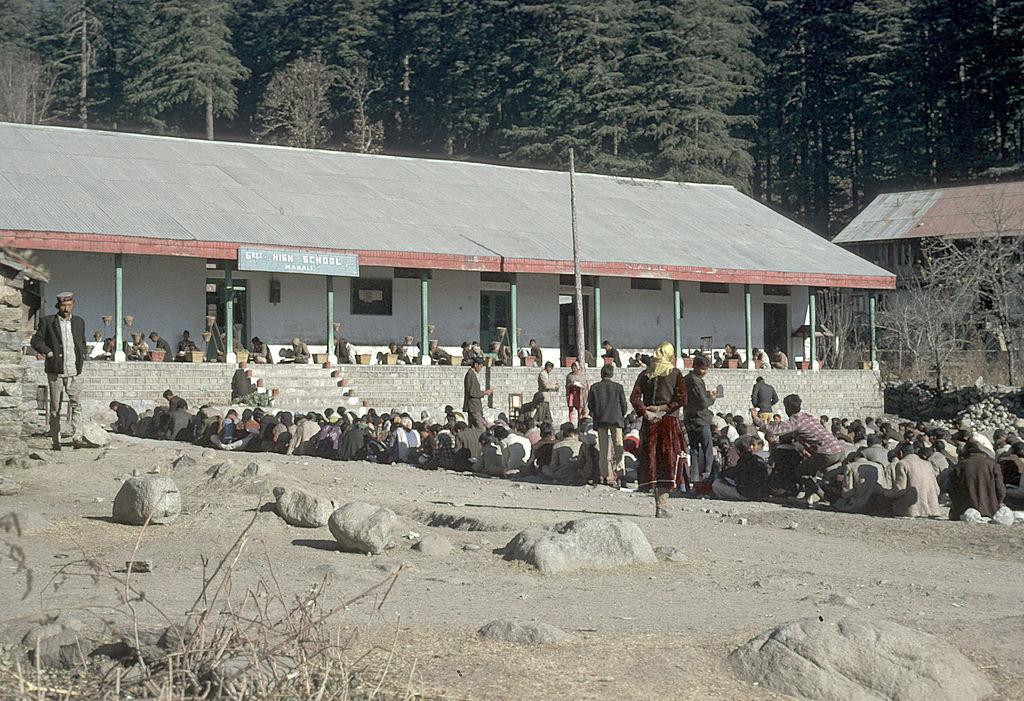 Overland 1970 Manali India