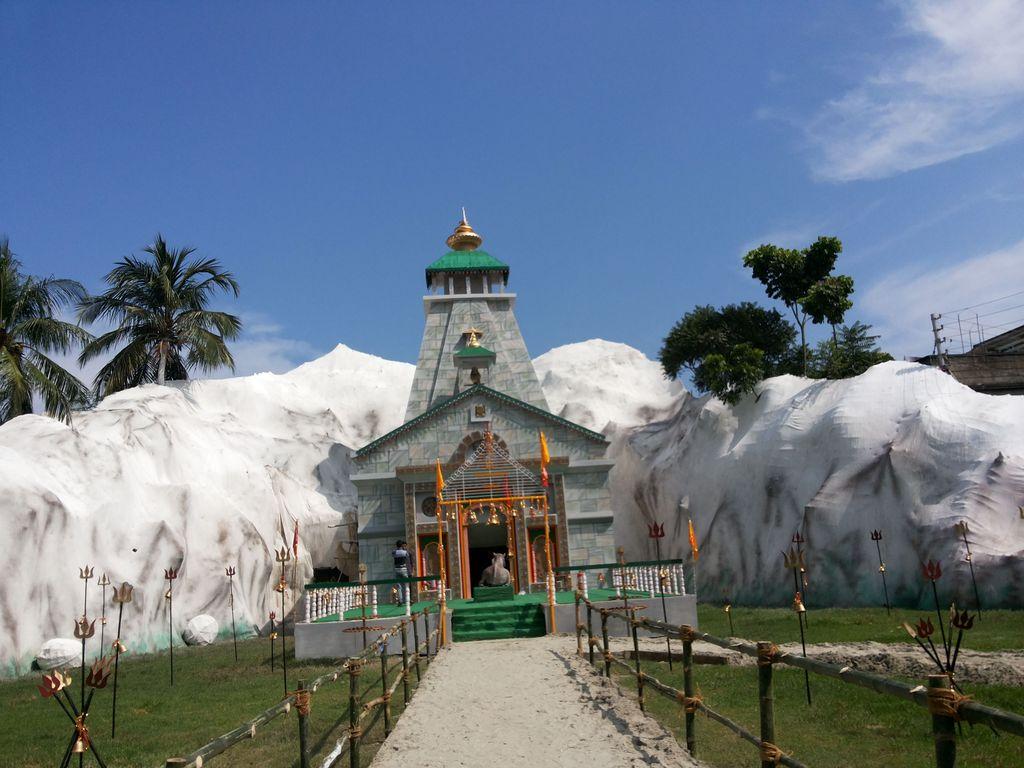 Kedarnath as our durga puja pandal india travel forum kedarnath as our durga puja pandal altavistaventures Images