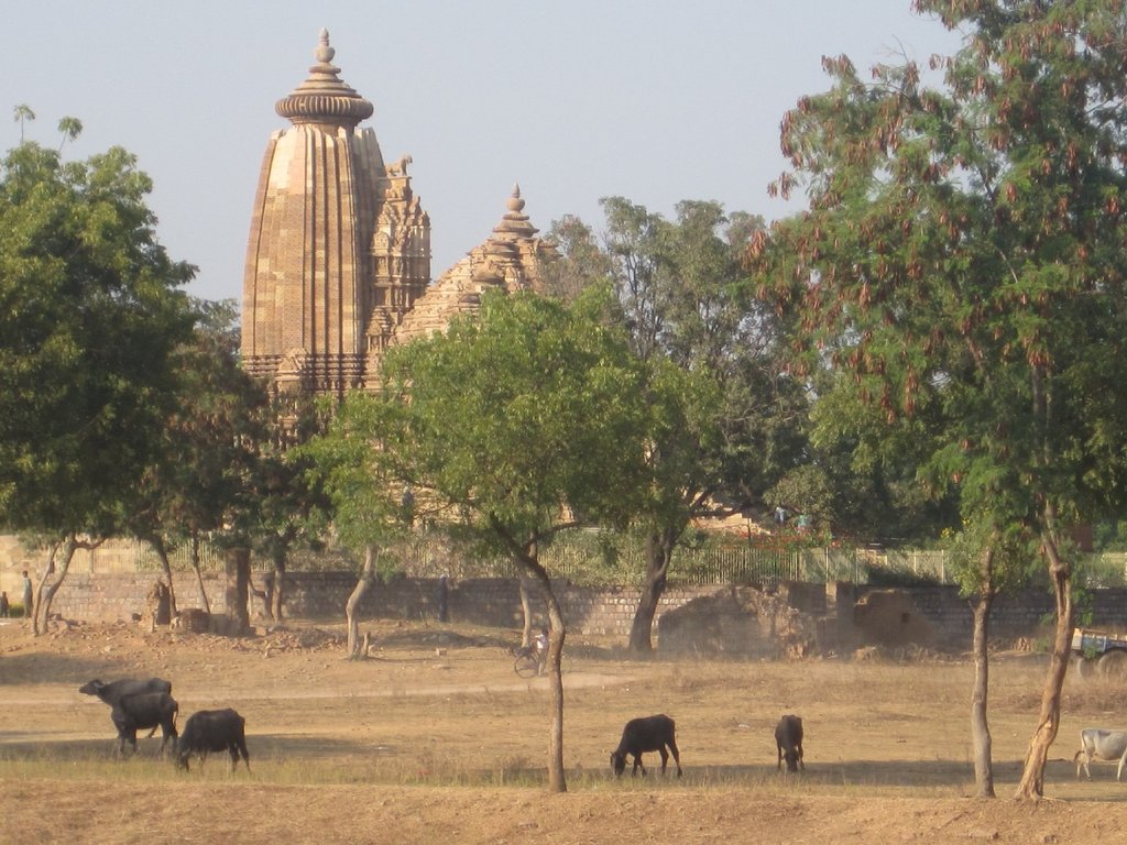 Peaceful Khajuraho