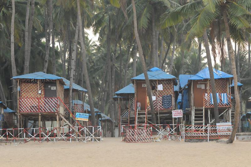 Blue Nile huts, Palolem, Goa