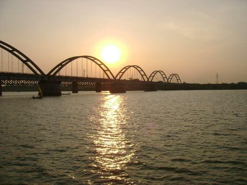 new rail bridge over godavari india travel forum