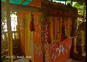Rotlo Ne Otlo Colourful Interiors by shahronakm.  Tags: Goa, Calangute.
