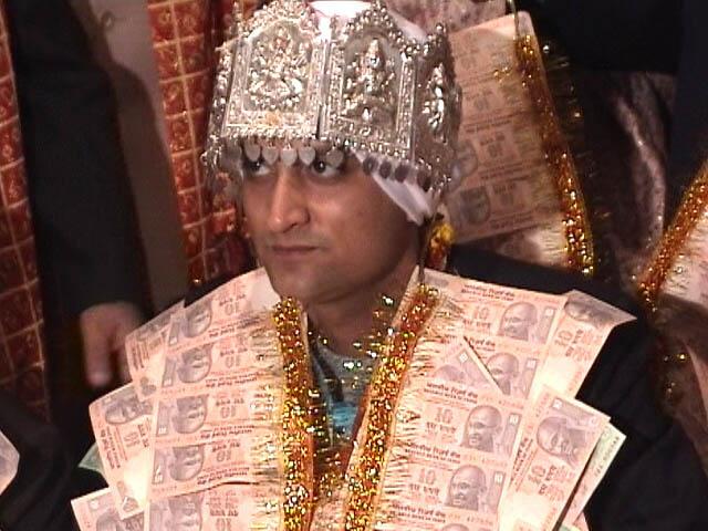 Hindu wedding in Amritsar. Groom.