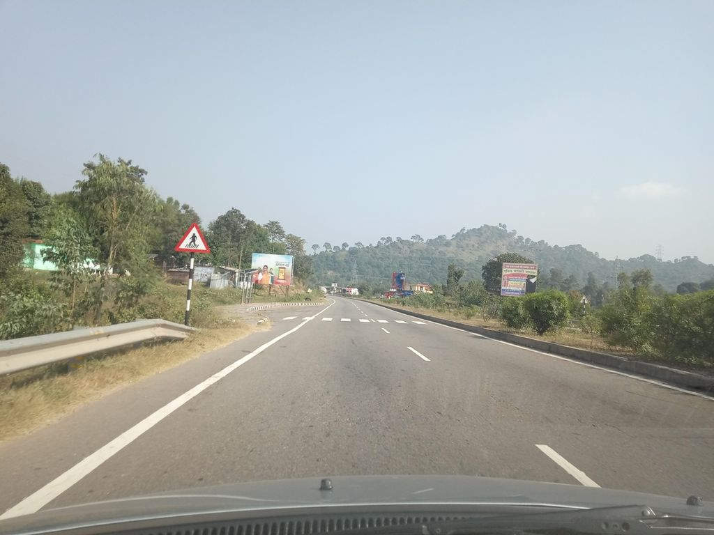 On the way to Patnitop from Katra