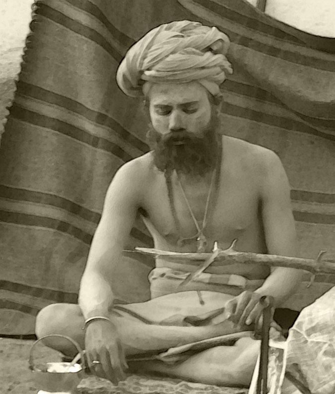Resultado de imagen de sadhus