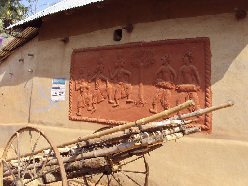Boner Pukur Danga near Santiniketan