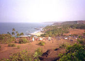 full moon party, anjuna-vagator (feb.03) by kokopelli.  Tags: Anjuna, Goa, Vagator Beach, moon, Full Moon.