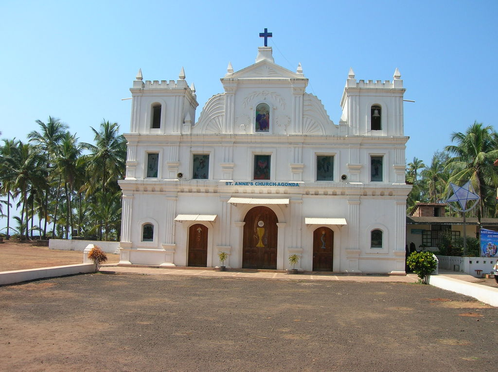 St. Anne's Church Agonda Goa