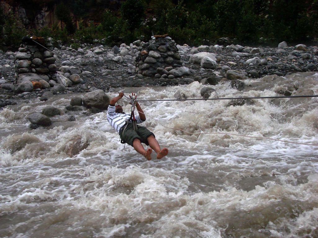 River Crossing Rishikesh Adventure Sports India River