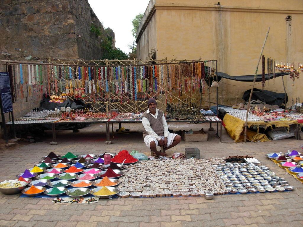 Vendor at Orchha