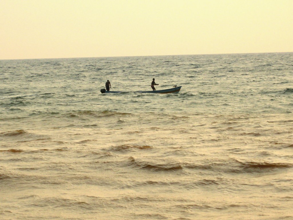 Taken from the sea shore of Velli Tourist Village,Thiruvananthapuram.