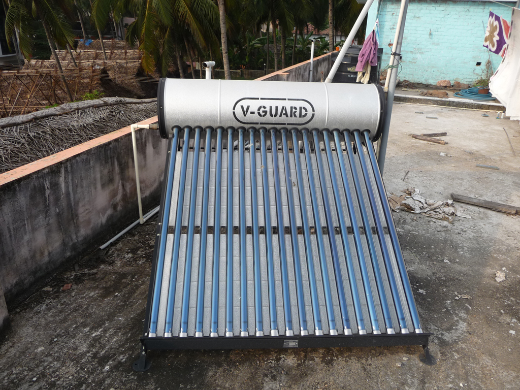 solar water heater business plan in india