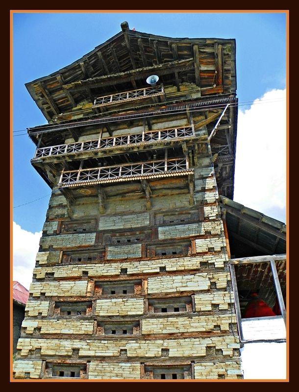 Pangana Fort Temple - Himachal
