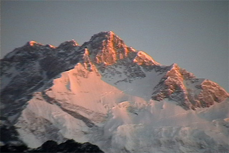 Sunrise and Kanchenjonga