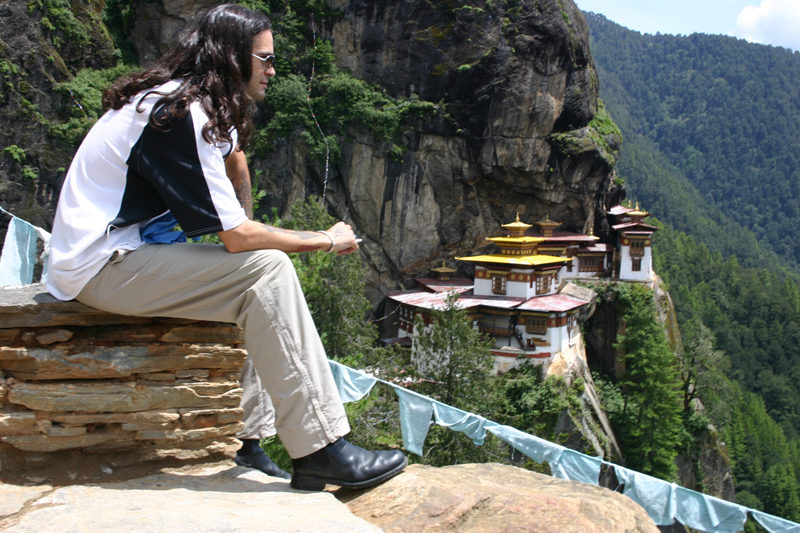how to go to paro bhutan from india