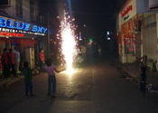 Diwali in Sudder St Area by vandy.  Tags: West Bengal, Kolkata, Diwali.