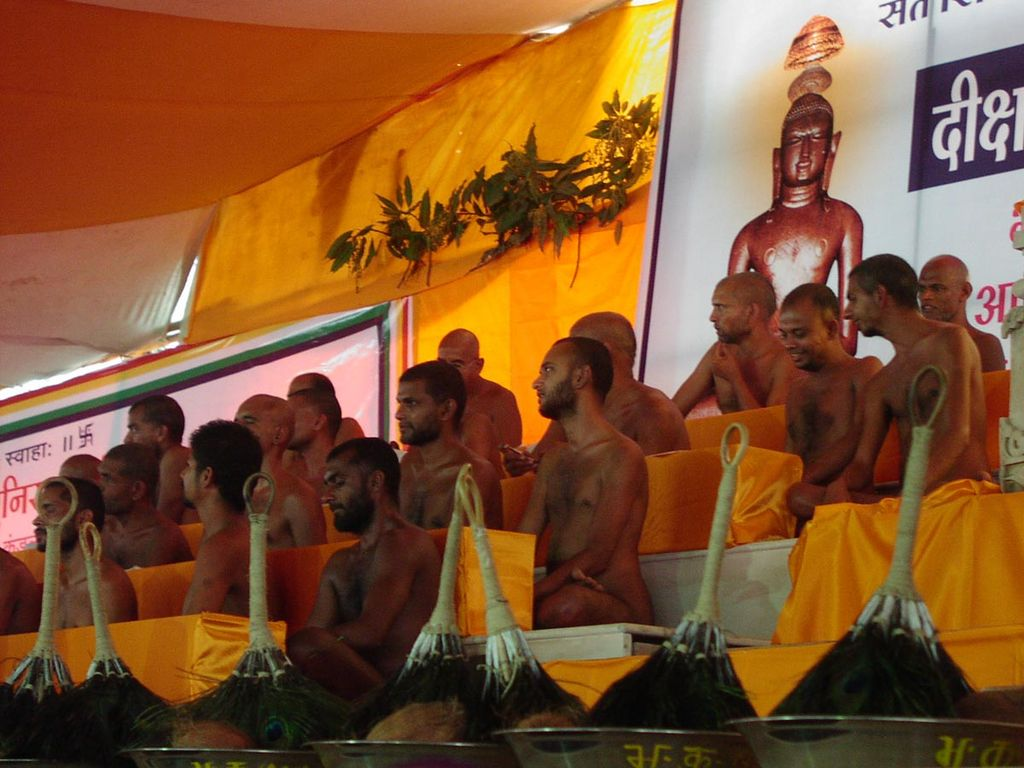 Sky Clad  (Naked) Monks