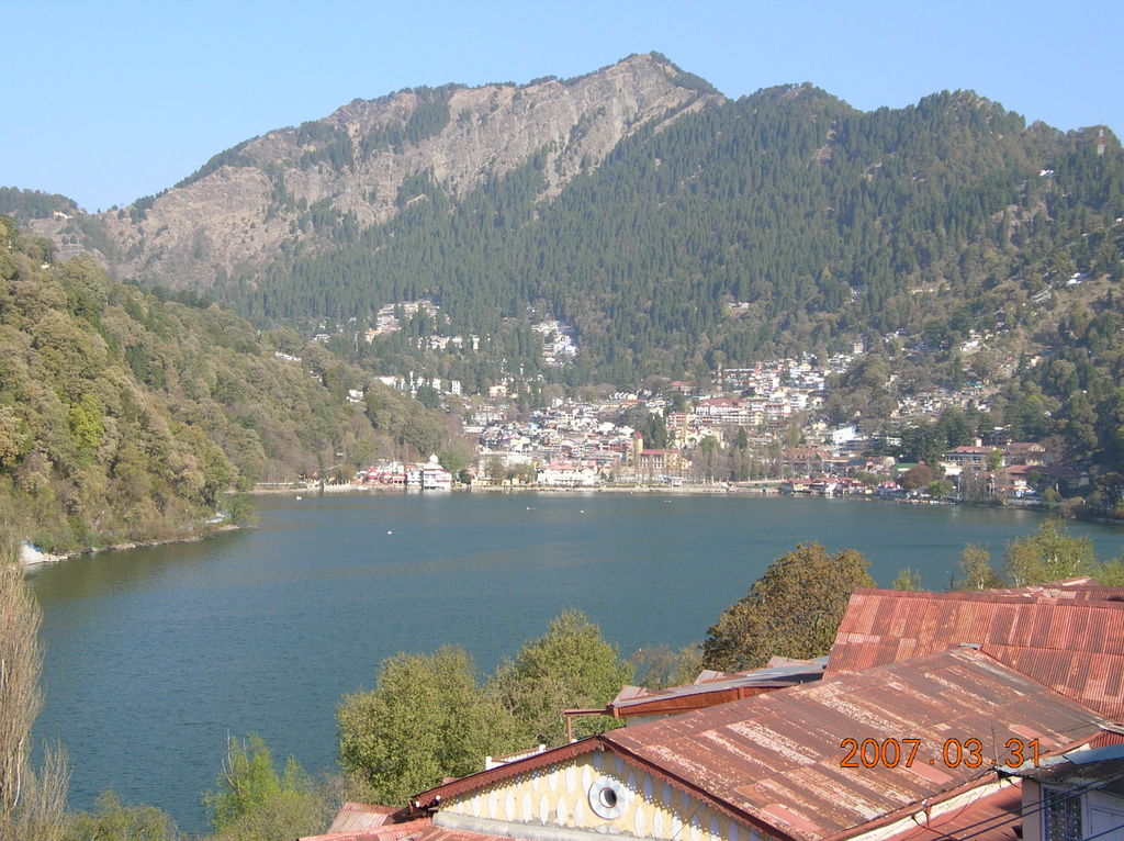 Nainital From Hotel Lake View Balcony India Travel Forum