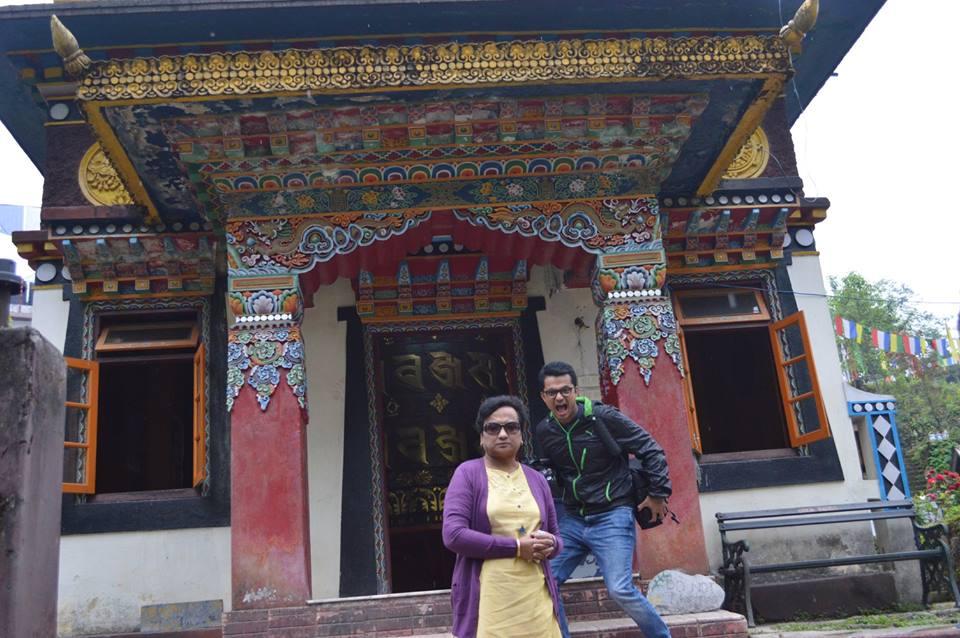 Buddhist Gompa Near Pelling