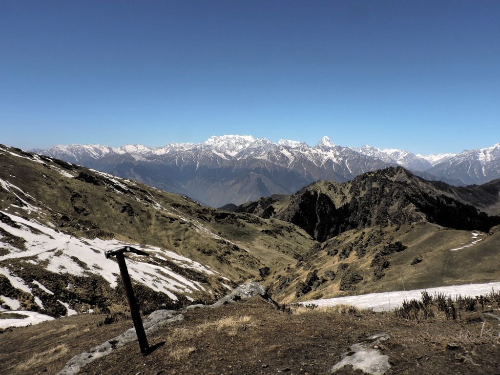From somewhere near Kuari Pass