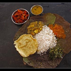 A typical Rajasthani Thali
