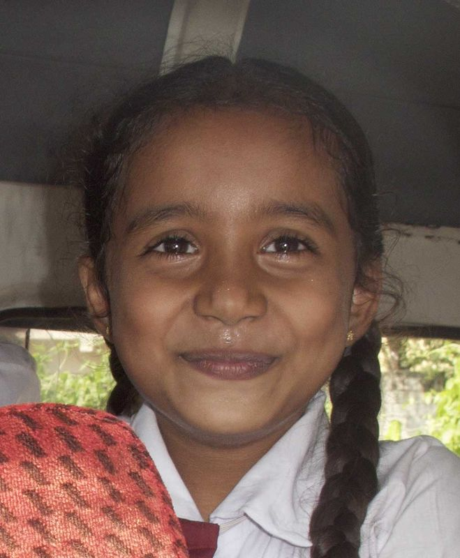 Sri Lanka School Girl