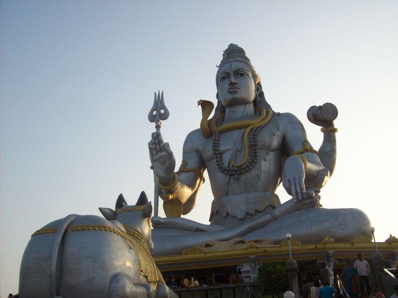 Lord Shiva Statue at Murudeshwar, Karnataka