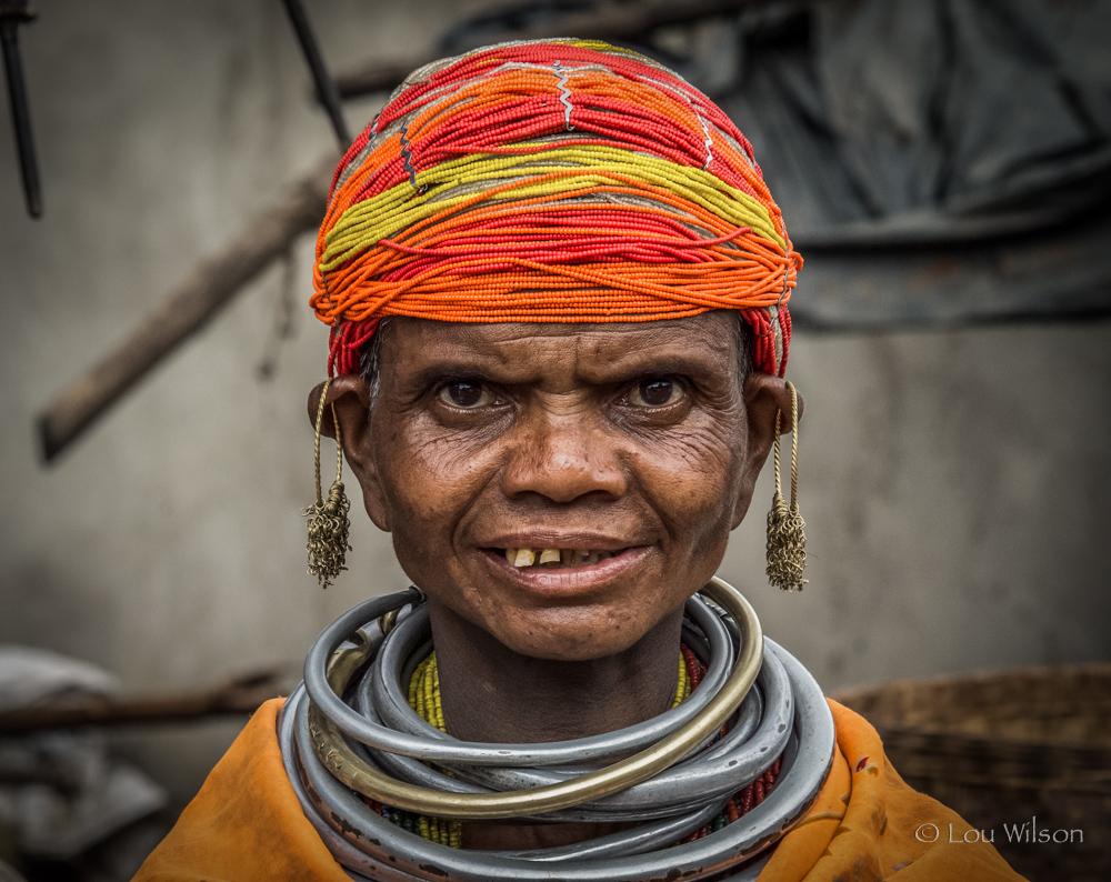 Bonda Tribal Lady