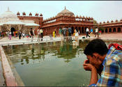 Water is blessing. by Khans.  Tags: Agra, Fatehpur Sikri, Rajasthan, Uttar Pradesh, People and Faces.