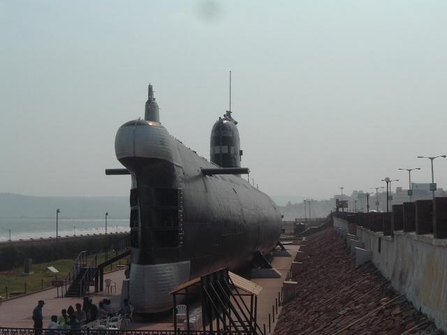 INS Kursura-Submarine Museum at Vizag