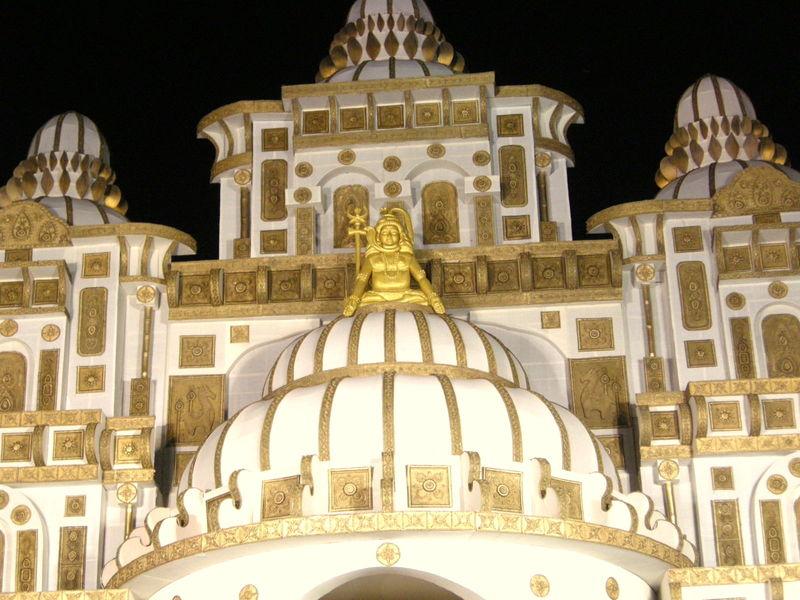 A dome of a puja pandaldurga puja 2011 india travel forum a dome of a puja pandaldurga puja 2011 altavistaventures Images