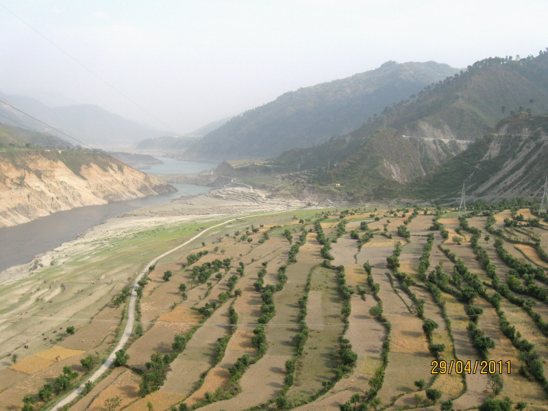 Terrace farming on way to gangotri india travel forum for Terrace india