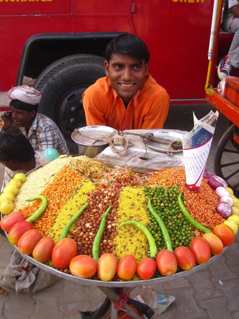 Pushkar camel fair vendor