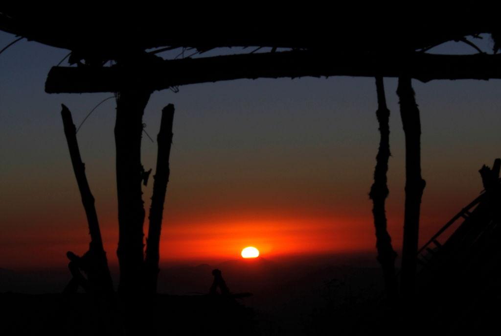 sunset at kalpokri