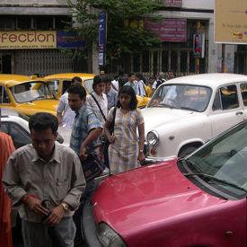 Traffic Jam in Kolkata