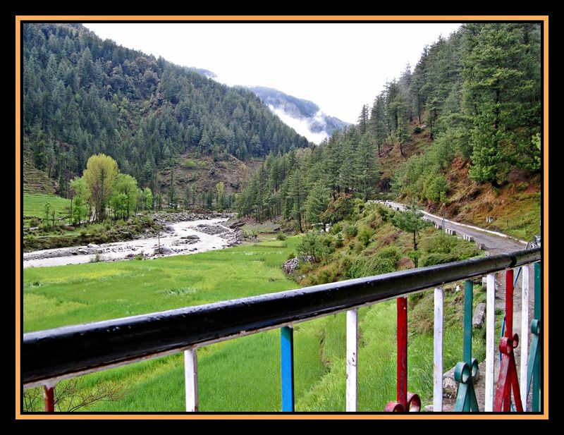 Beautiful Barot - View from the guest house