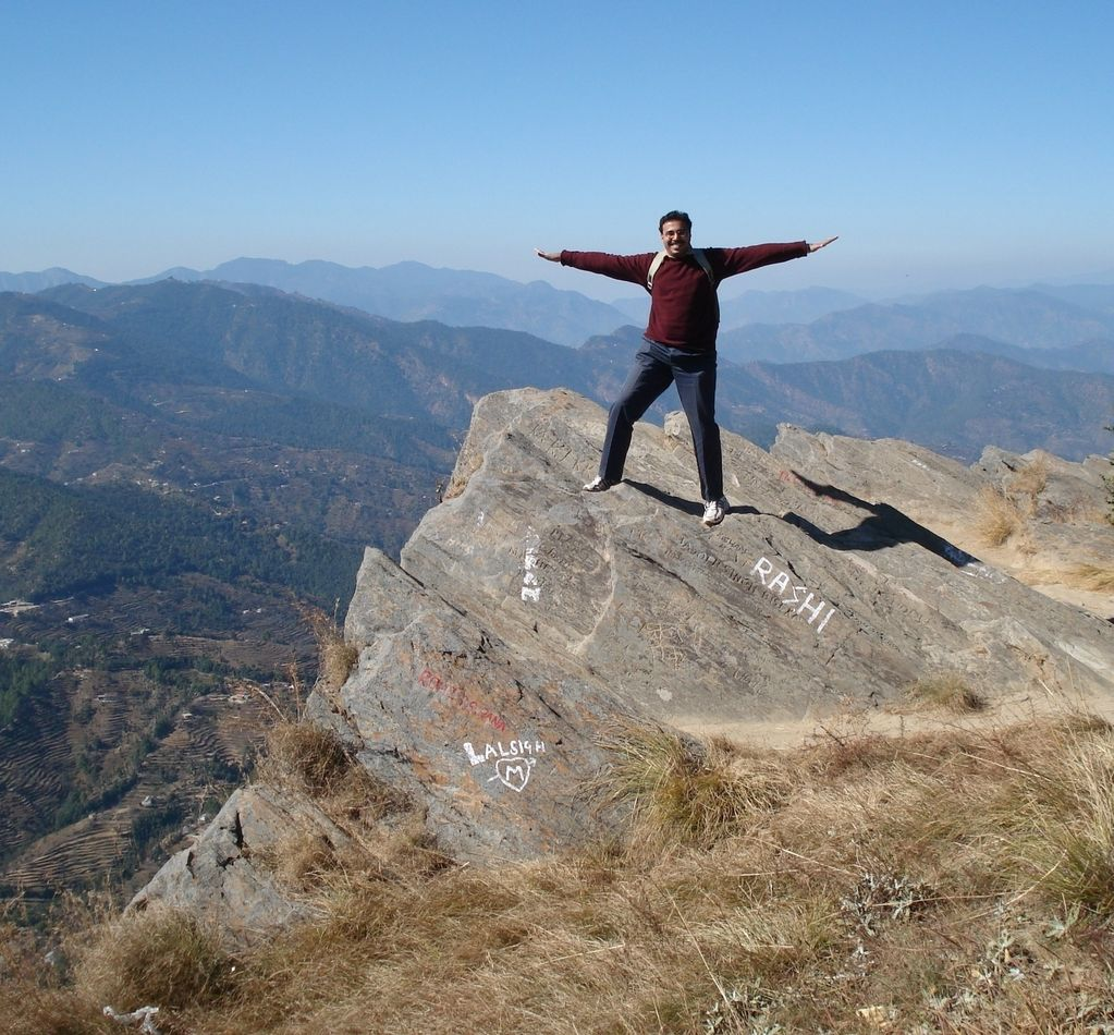 Mukteshwar India  city photos gallery : Chauti Jalli Cliff, Mukteshwar India Travel Forum   IndiaMike.com