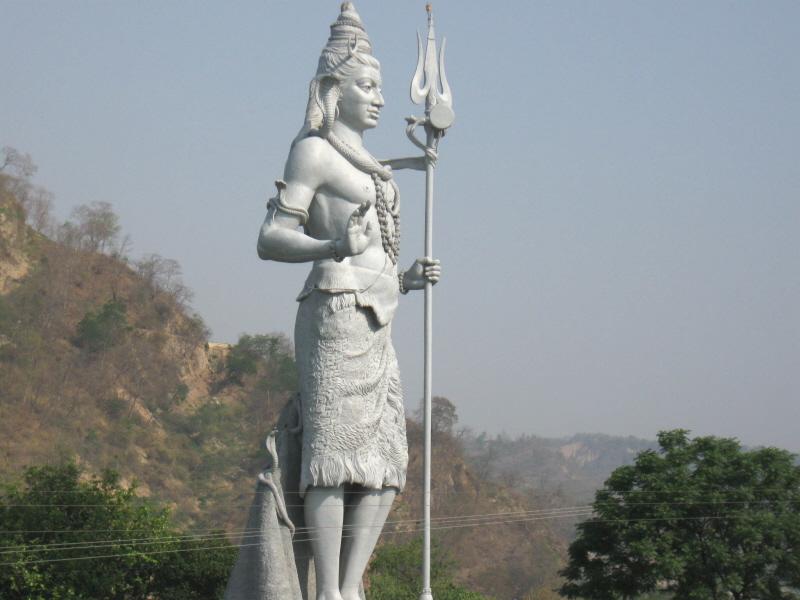Shiva Statue Wallpaper Shiva Statue at Haridwar Save