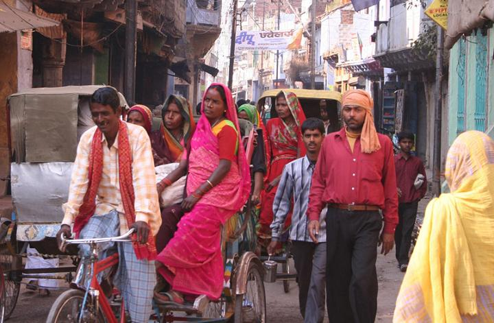 city life of india