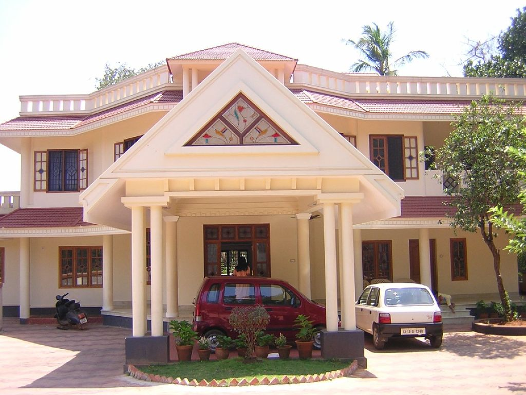 Another lovely house from kannur india travel forum Designer houses in india
