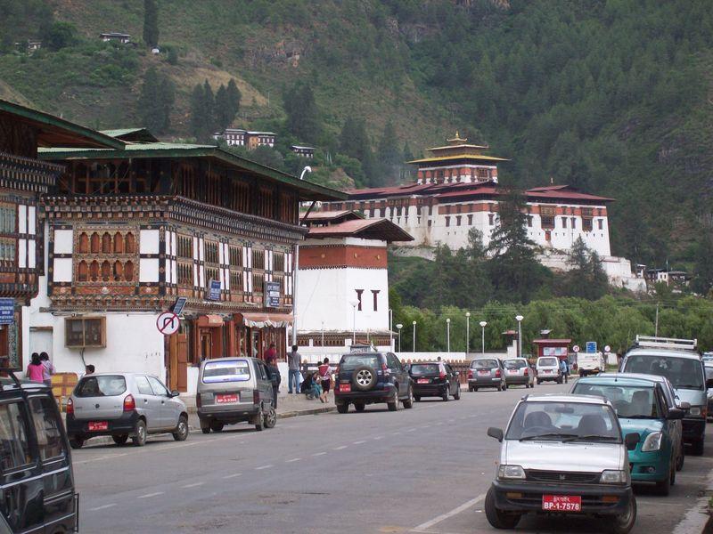Paro main market , Bhutan