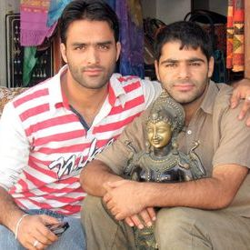 Kashmiri store owners