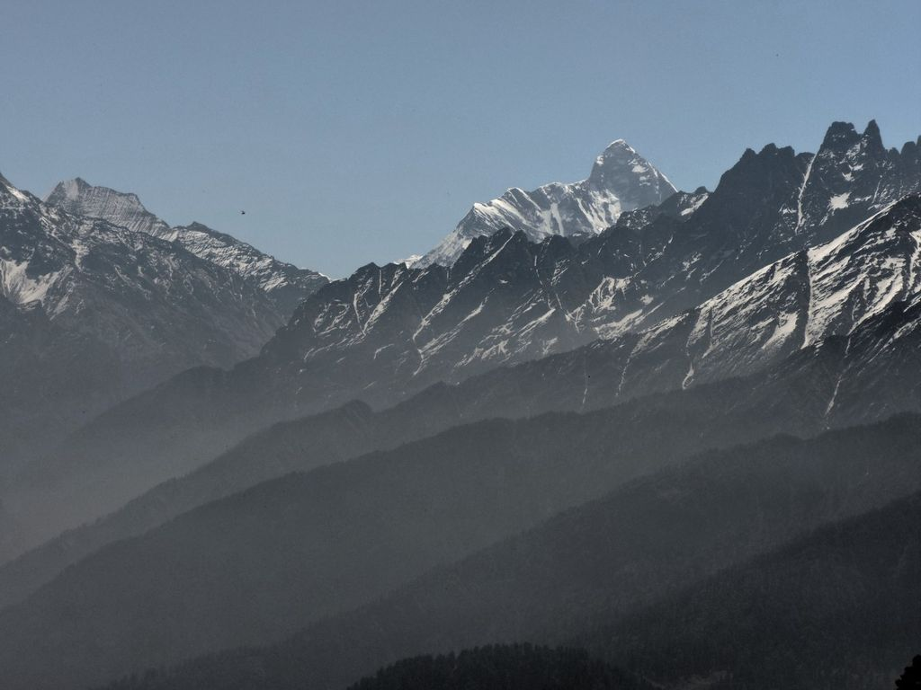 Mt. Nanda Devi from Tali