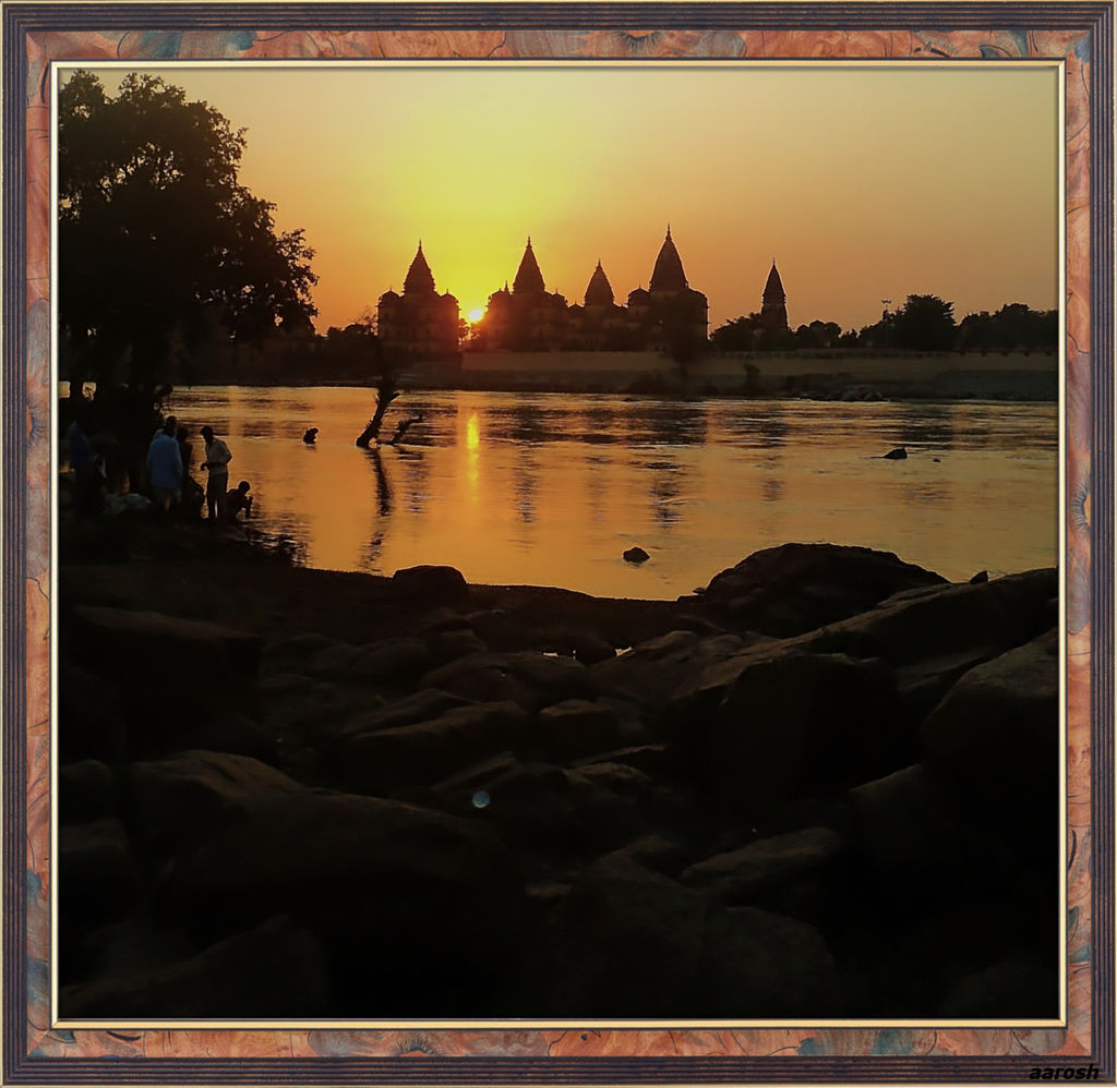 Orchha On The Rocks