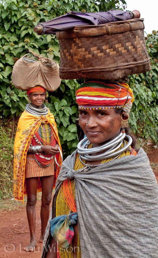 Bonda Tribal Ladies - Odisha Eastern India